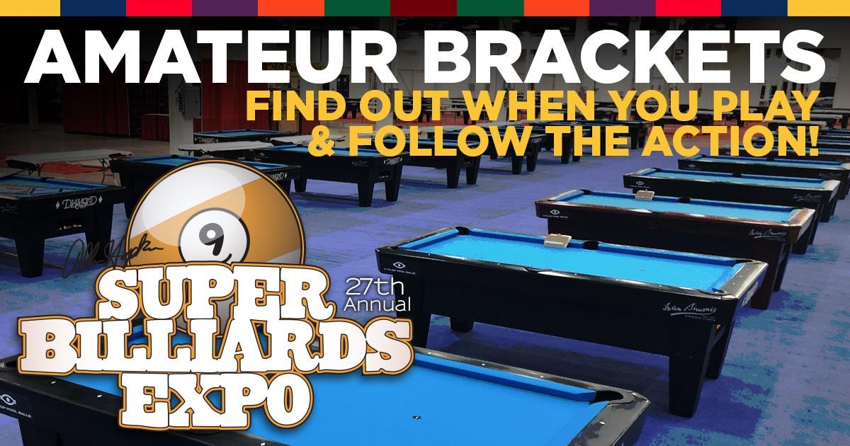 Brackets - Super Billiards Expo