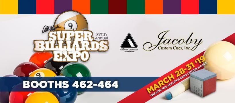 Jacoby Custom Cues - Super Billiards Expo
