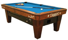 Diamond Billiards Table